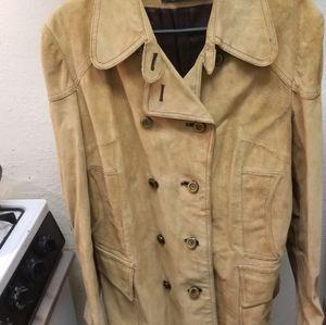 Women's Suede Coat